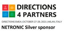 Directions EMEA 2021 - NETRONIC silver sponsor