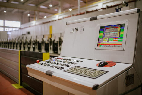 Unitpromet uses visual production scheduling tool for prdoucing noise protection pannels