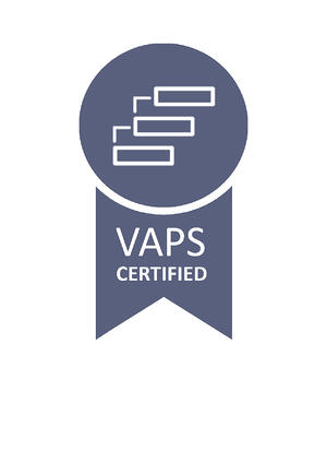 VAPS certified badge
