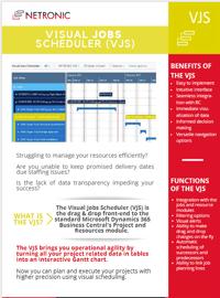 Flyer Visual Jobs Scheduler