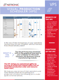 Flyer Visual Production Scheduler