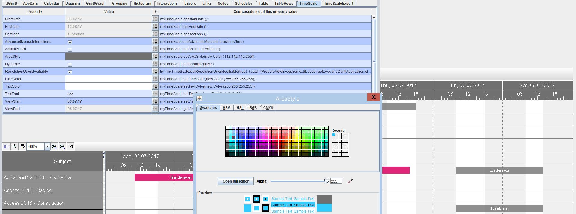 For Developers - Java Gantt Chart Control - Slider 4.png