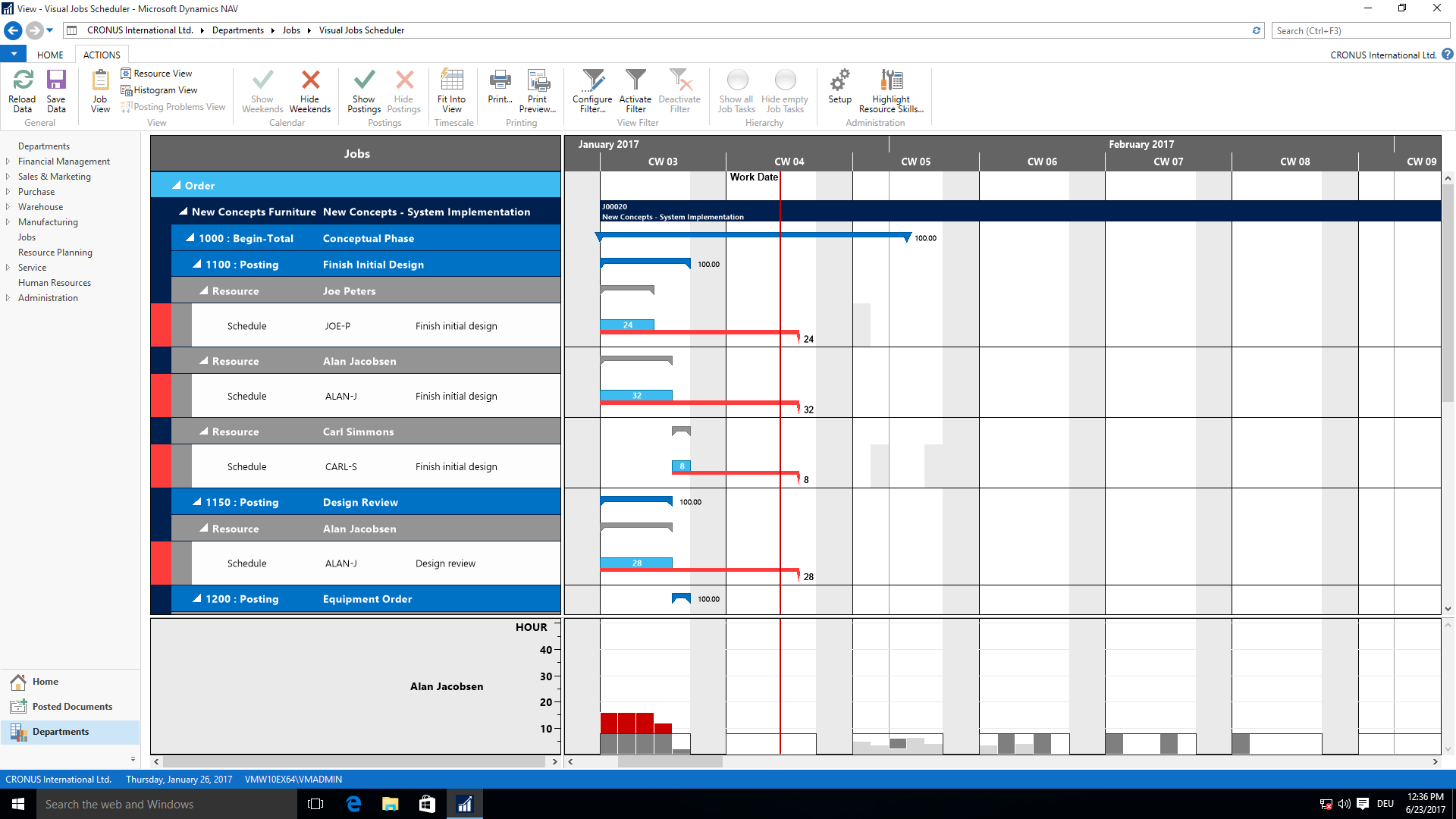 Visual Jobs Scheduler