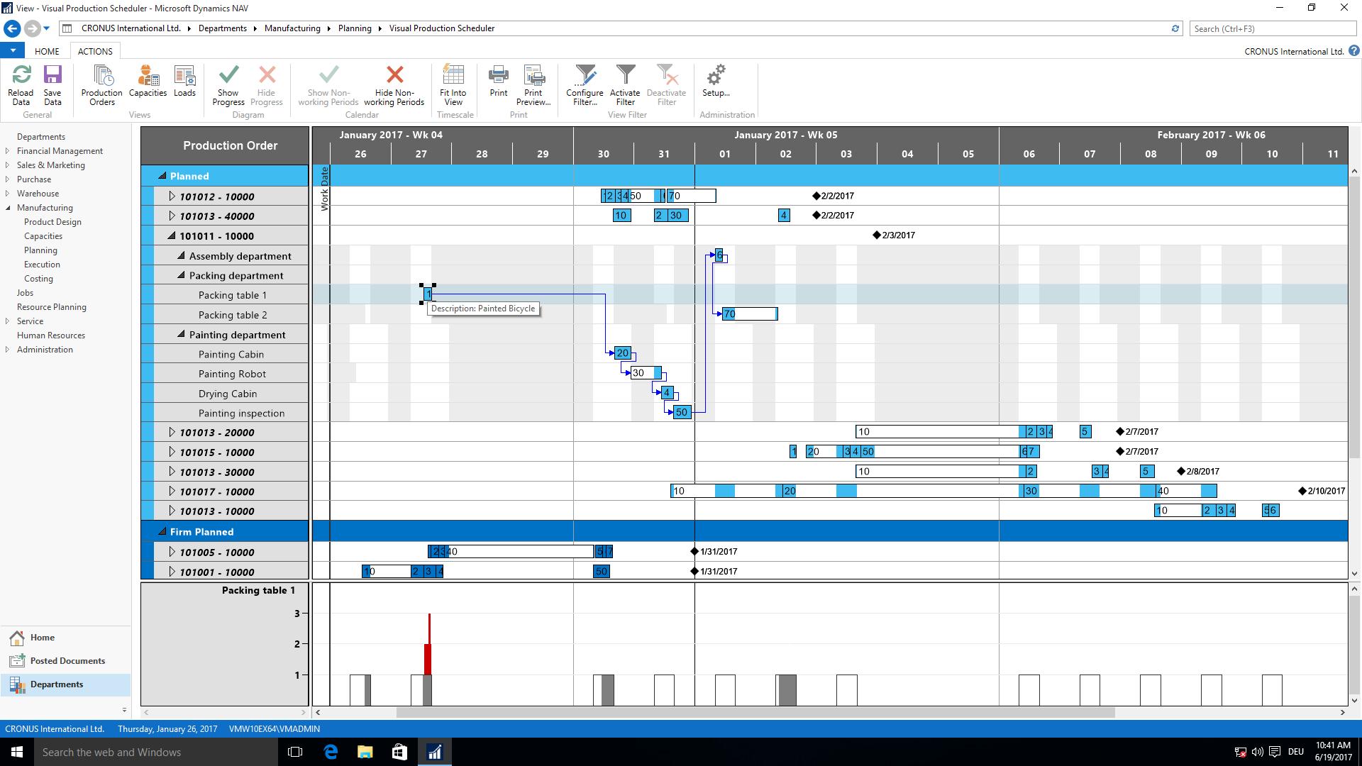 production scheduler job description