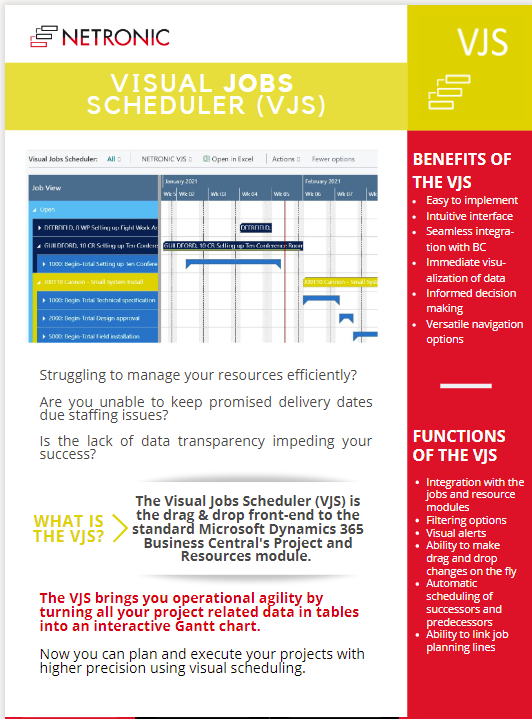 Flyer Visual Jobs Scheduler