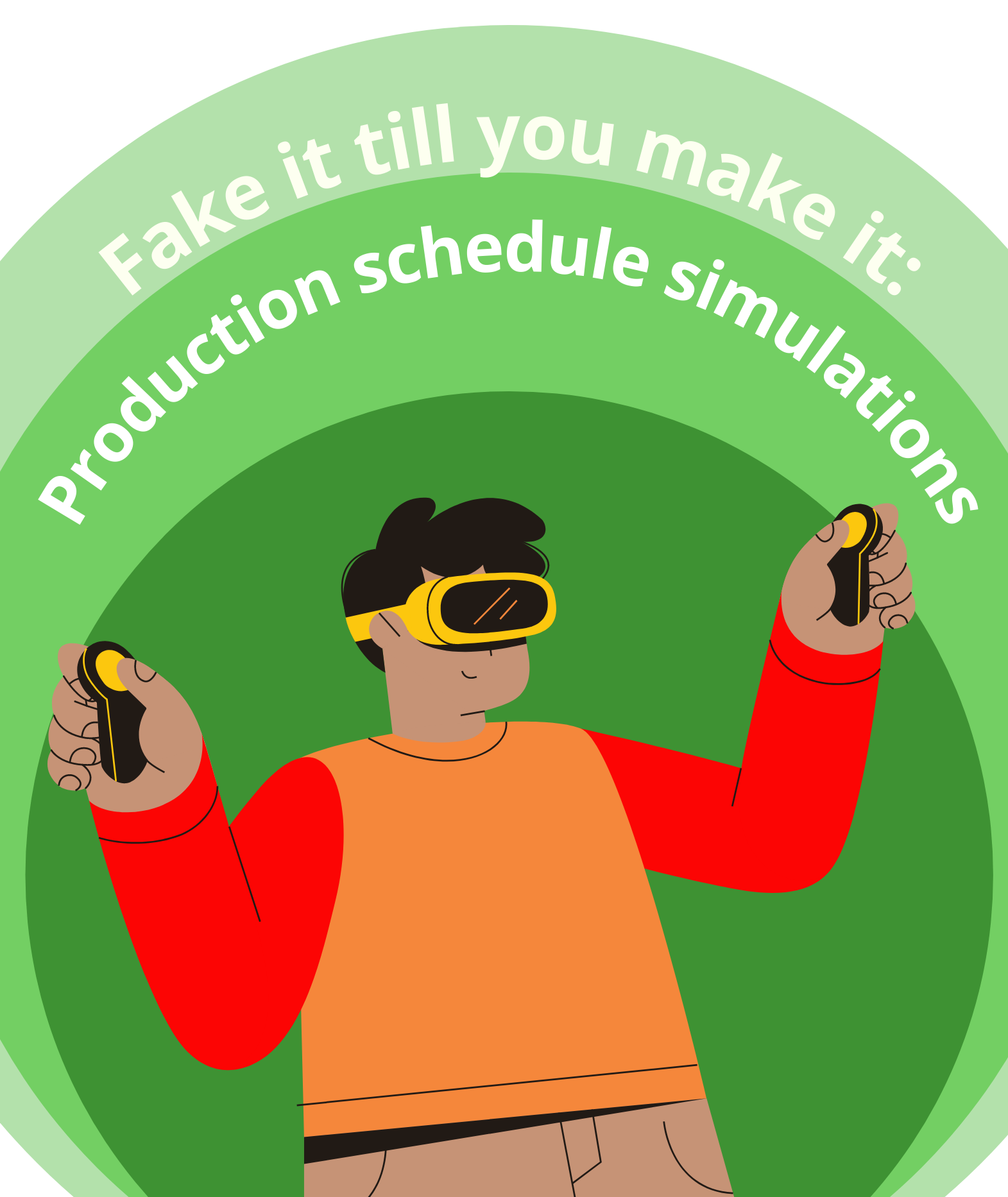 Fake it till you make it: Production schedule simulations in the VAPS